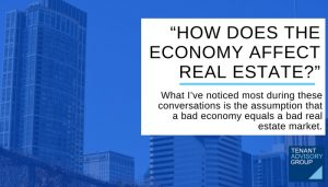 """-HOW DOES THE ECONOMY AFFECT REAL ESTATE-"""" - Tag - Blog Header"""