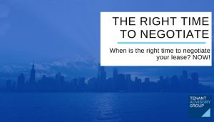 THE RIGHT TIME TO NEGOTIATE - Tag - Blog Header