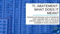 tenant reduced fees