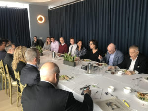 Executives networking event with TAG