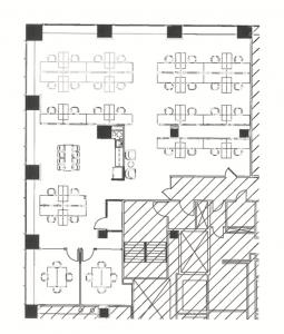 30 N LaSalle Sublease floor plan