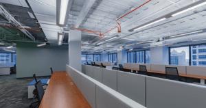 30 N LaSalle Sublease empty desk rows