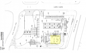 A building plan off of West Higgins Road