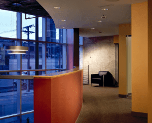an interior office view of 467 W Erie